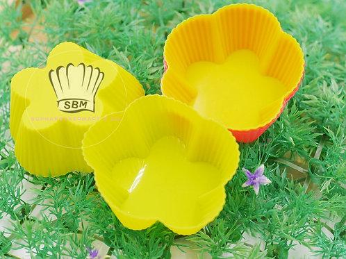 พิมพ์ซิลิโคนรูปดอกไม้ 7 ซ.ม.