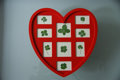 A heart full of real clovers