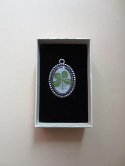 Tiny four-leaf clover