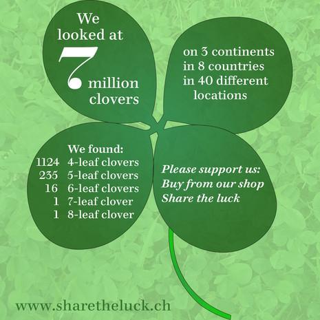 7 million clovers