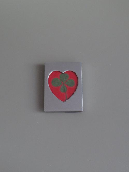 Framed four-leaf clover (small)
