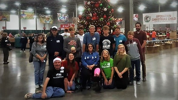 Operation Christmas Child Processing Center 2017