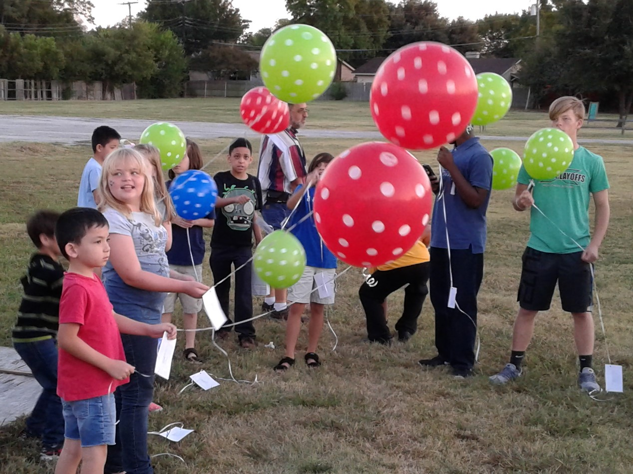 AWANA Balloons On Mission Release
