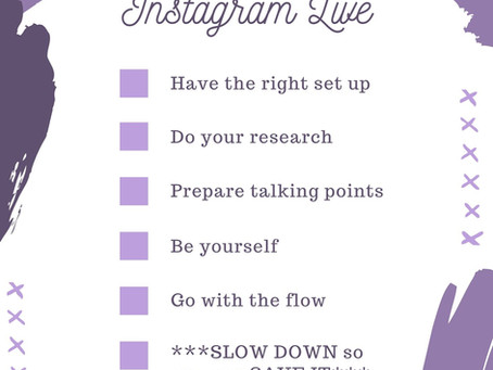 6 Things I Learned Doing Instagram Live