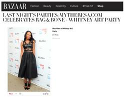 Harper's Bazaar - Whitney Art Party