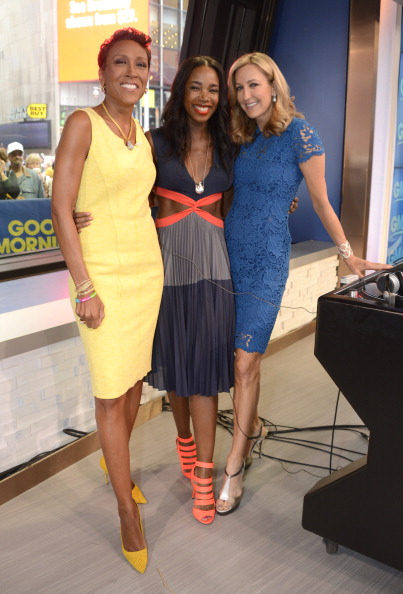 Robin Roberts & Lara Spencer at GMA