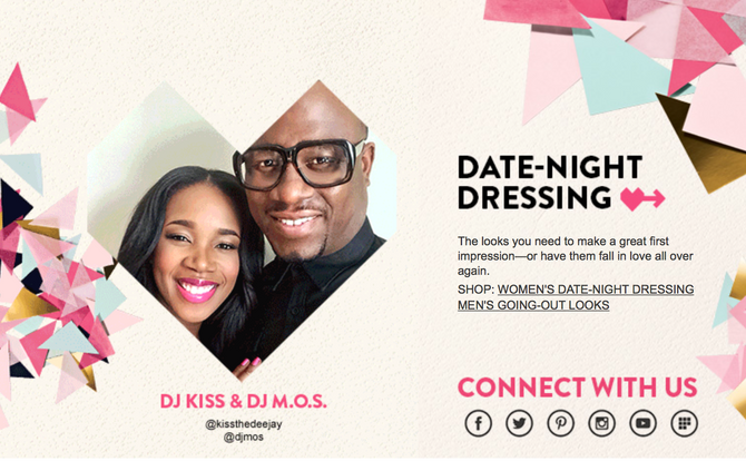 Nordstrom Valentine's Day Campaign with DJ M.O.S.