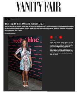 Vanity Fair - Best Female Dressed DJs