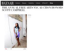 Harper's Bazaar - Free Arts Auction