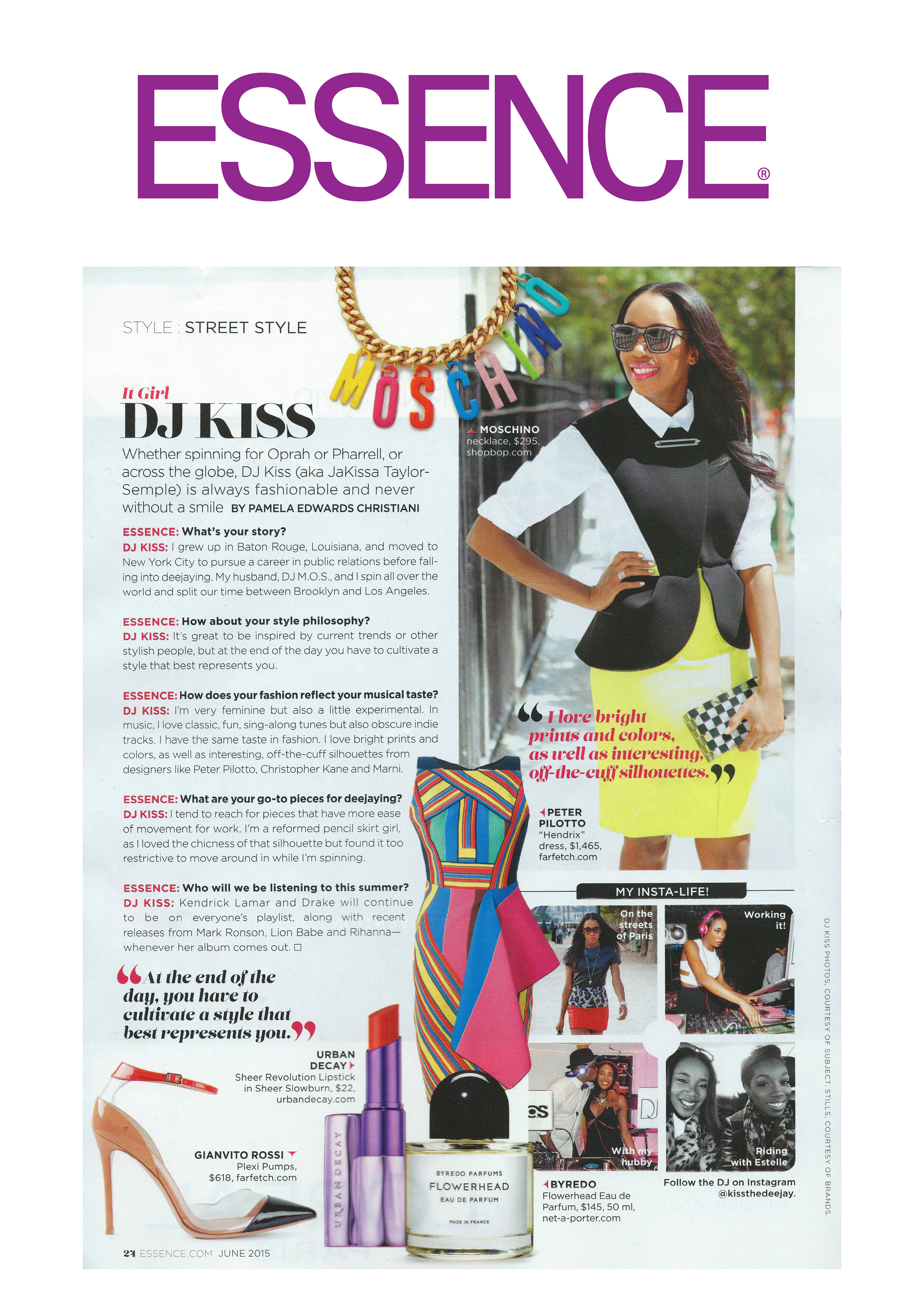 Essence Magazine - It Girl Feature