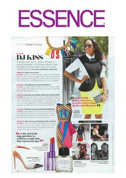 Essence Magazine - It Girl Feature