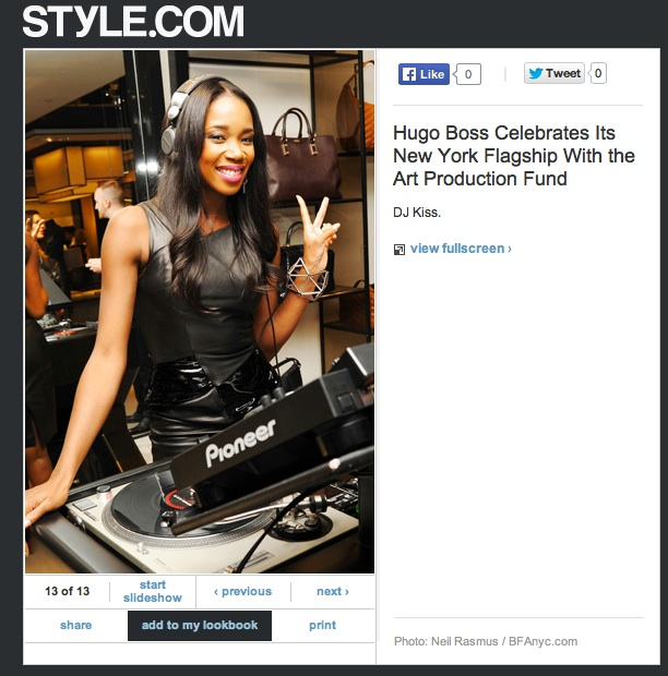 Style.com - Party Pics