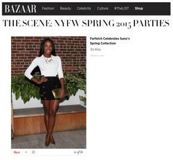 Harper's Bazaar - The Scene