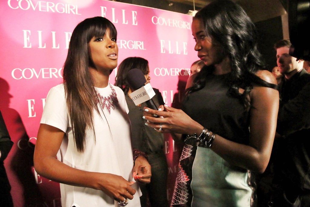 Kelly Rowland at Elle Woman In Music