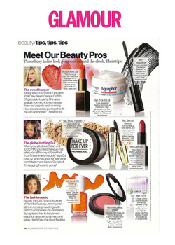 Glamour Magazine - Beauty Feature