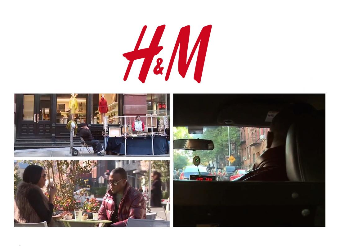 H&M Gift Guide Video w. DJ M.O.S.