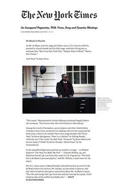 DJ M.O.S. - New York Times