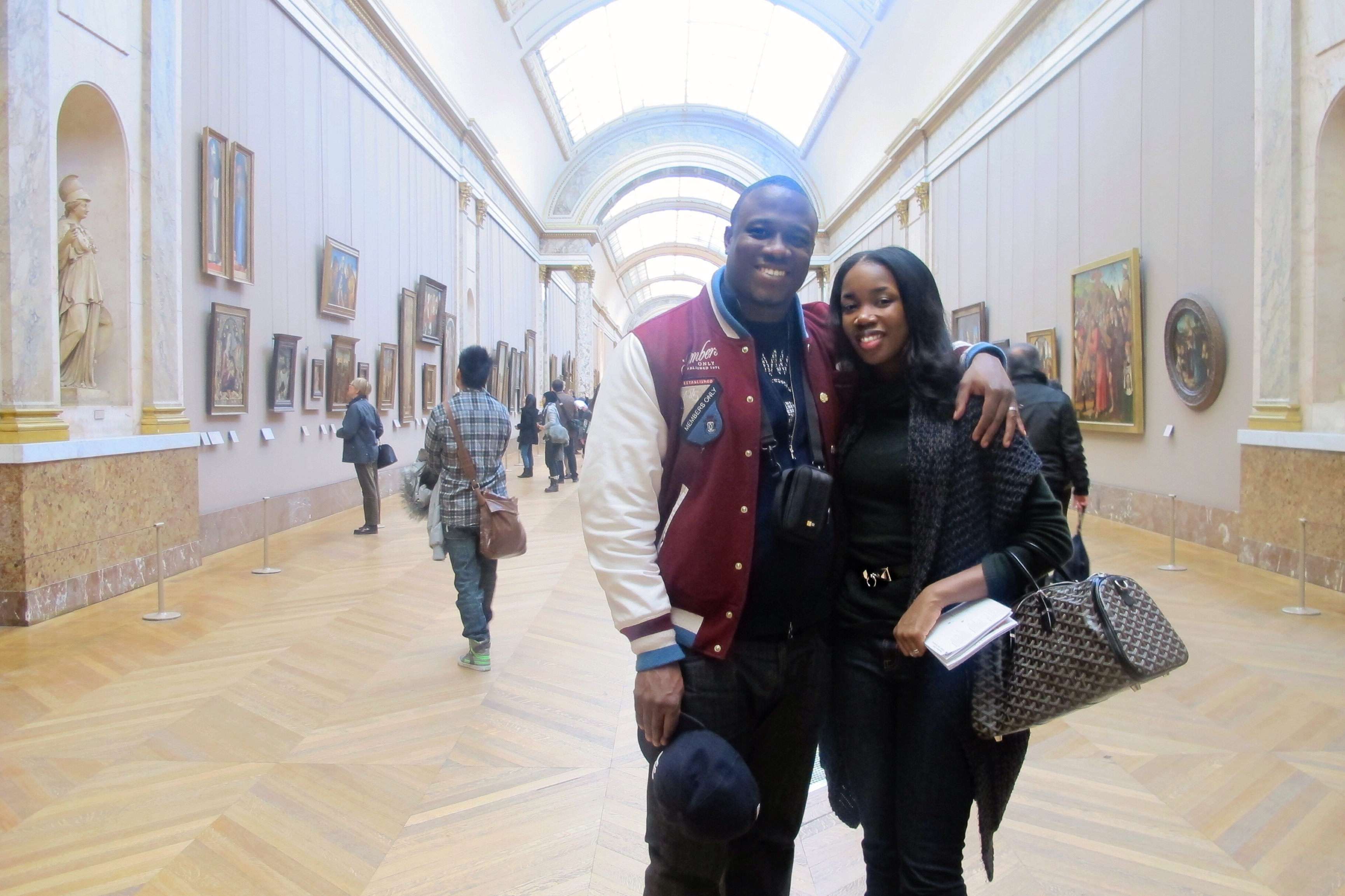 #theSemples at the Lourve