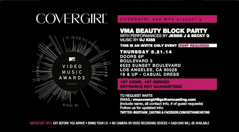 MTV VMA Party 2014