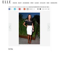 Elle.com - Party Pics