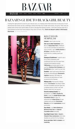 Harpers Bazaar - Beauty Feature
