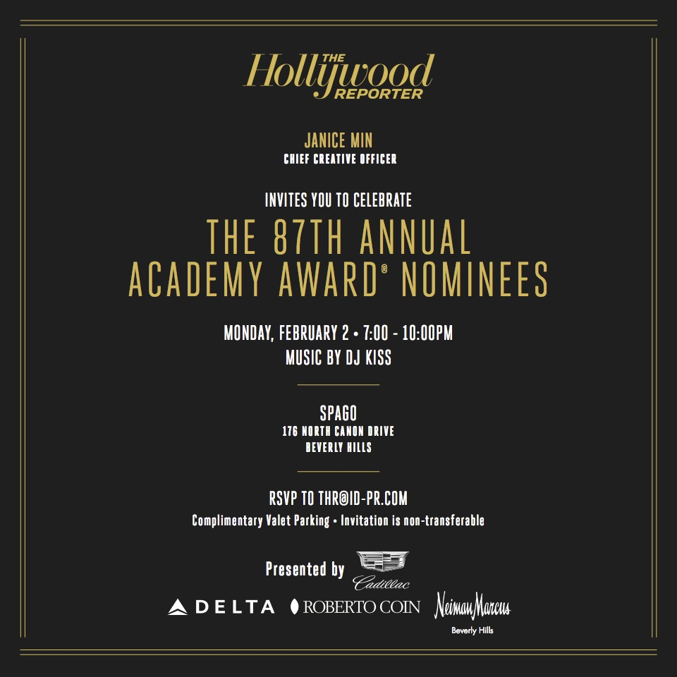 Hollywood Reporter Nominee Night