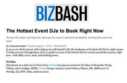 Biz Bash - Hottest DJs To Book