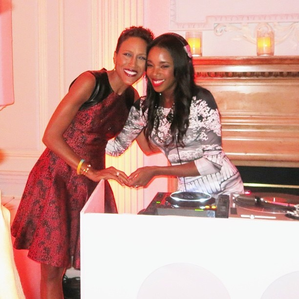 Us Weekly party w/ Robin Roberts