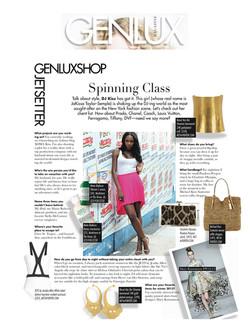 Gen Lux Magazine - Spinning Class
