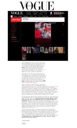 Vogue Italia - Fashion Profile