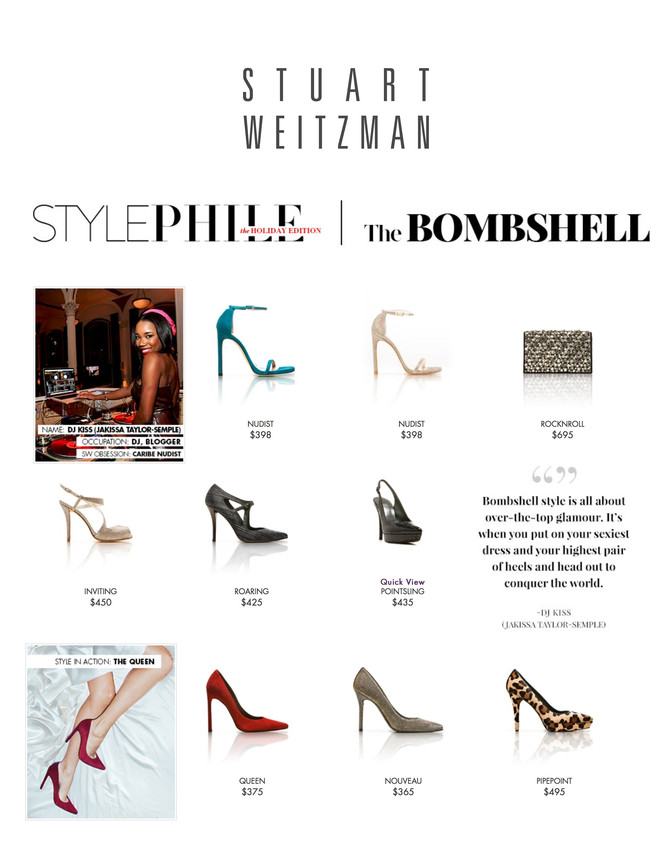 Stuart Weitzman Holiday Gift Guide