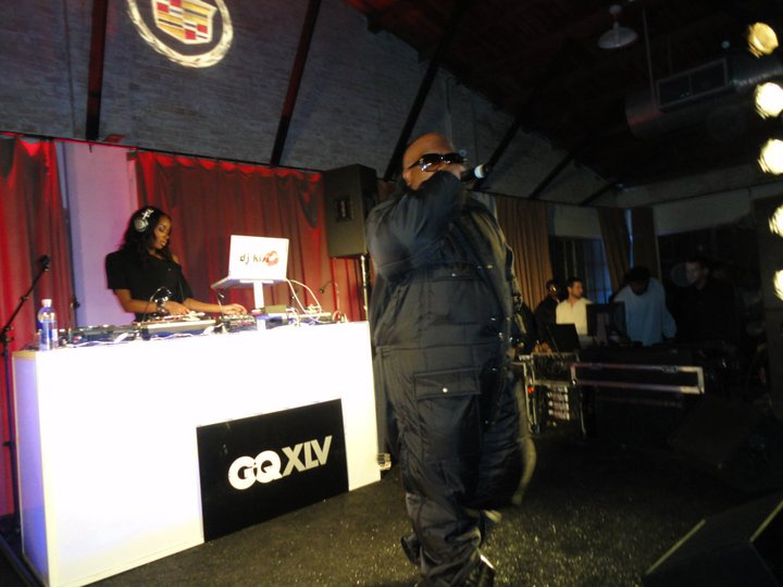 Cee-lo Green at GQ Superbowl party