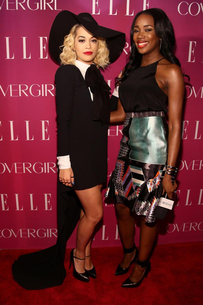 Rita Ora at Elle Women In Music