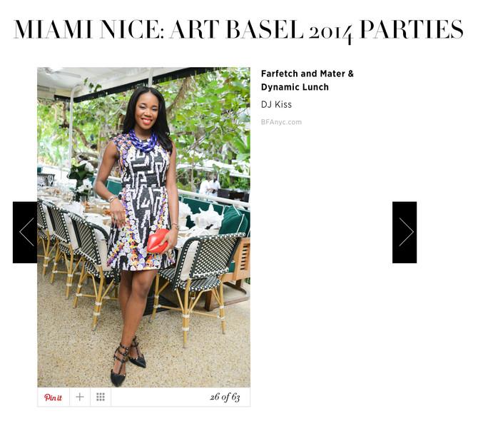Harper's Bazaar Art Basel Recap