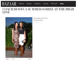 Harper's Bazaar - Coach Party