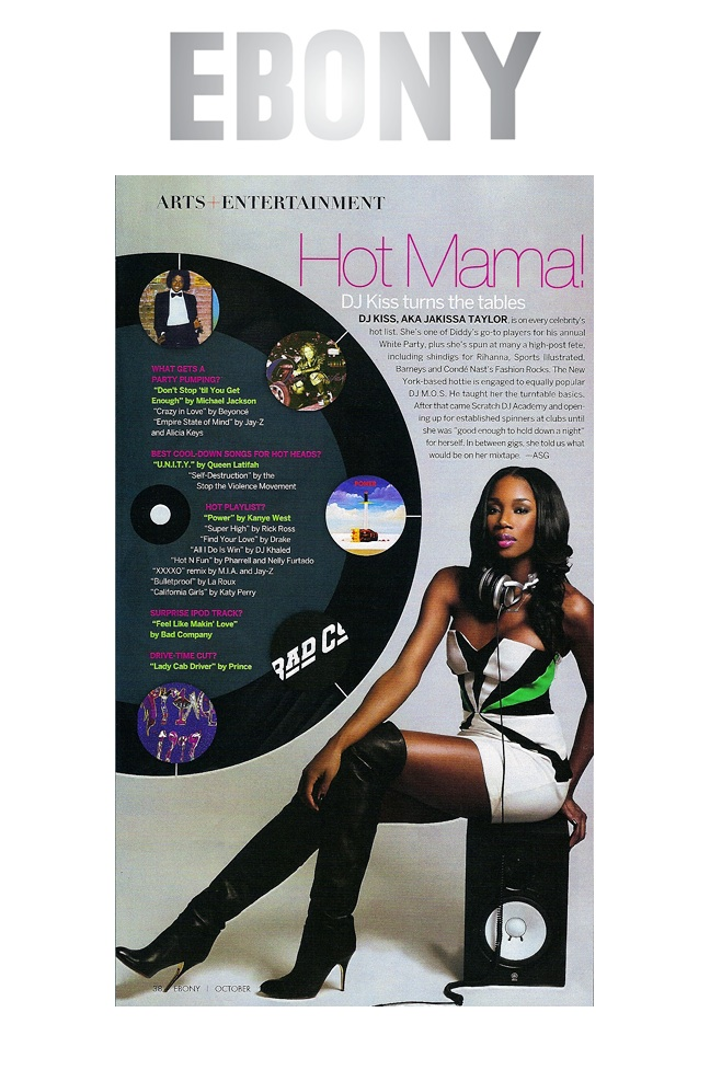 Ebony Magazine - Hot Mama