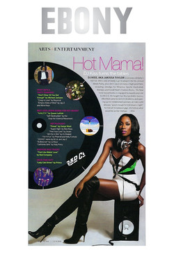 Ebony Magazine - Hot Mama