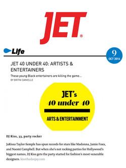 Jet Magazine - 40 Under 40