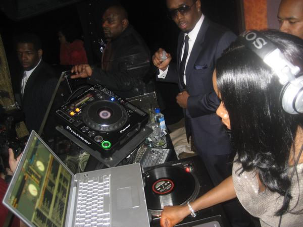 Diddy's Sean John after party