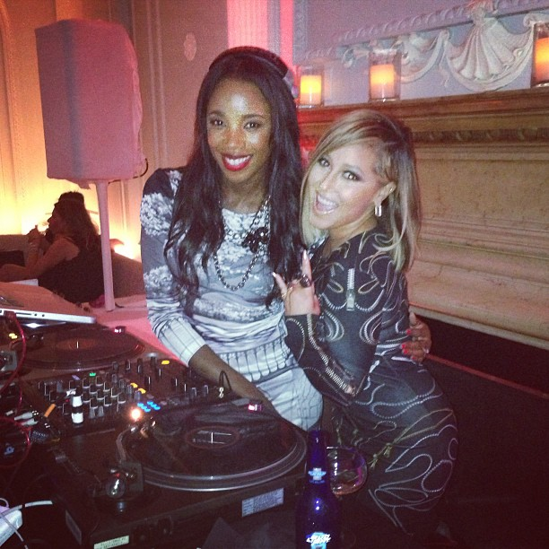 Adrienne Bailon at Us Weekly's Party