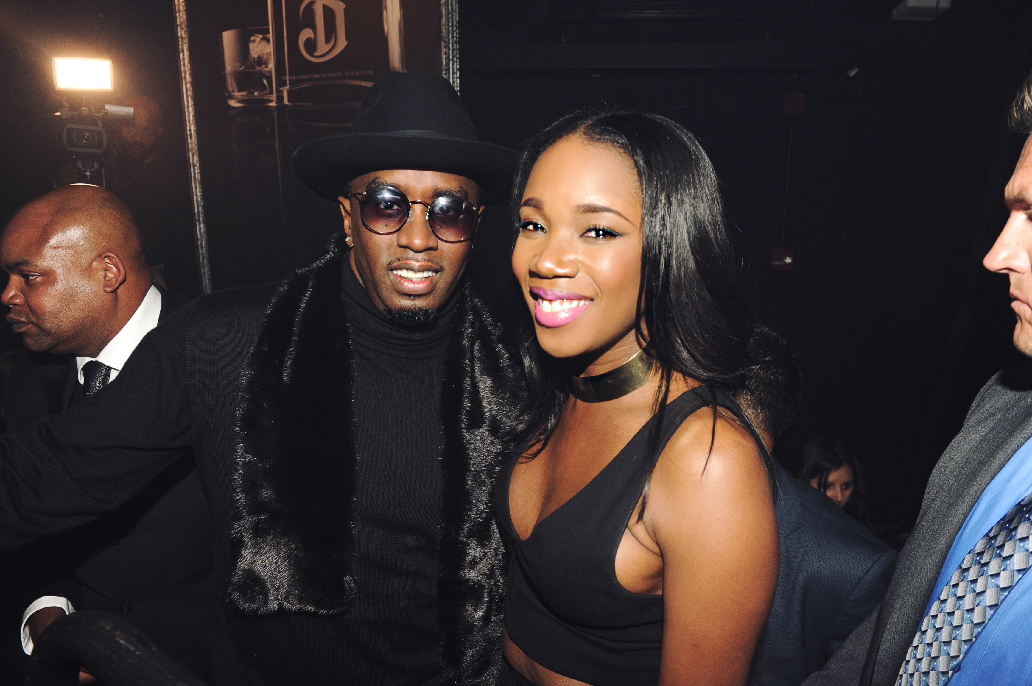 Deleon launch with Diddy