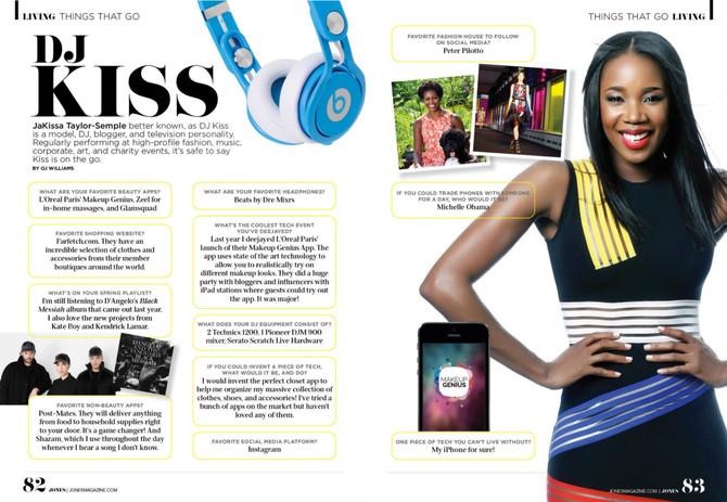 Jones Magazine Feature!