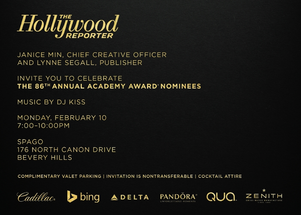 Hollywood Reporter Nominees Night