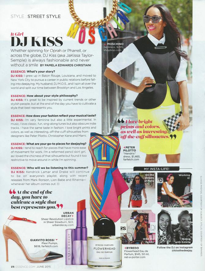 Essence Magazine It Girl Feature