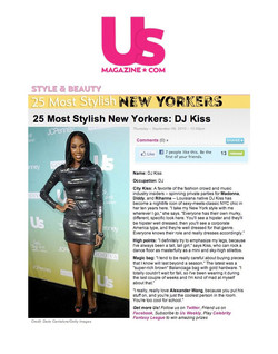US Weekly - 25 Most Stylish NYers