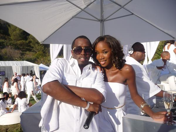 Diddy's White Party in LA