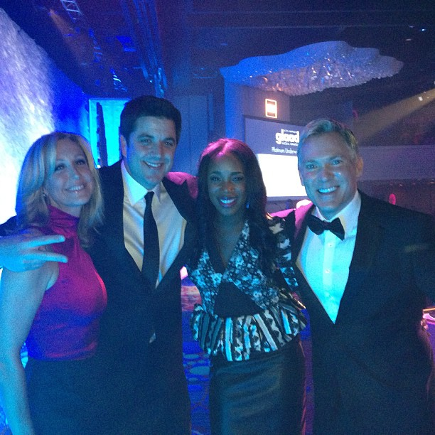 GMA anchors at GLAAD Awards