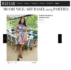 Harper's Bazaar - Art Basel Recap