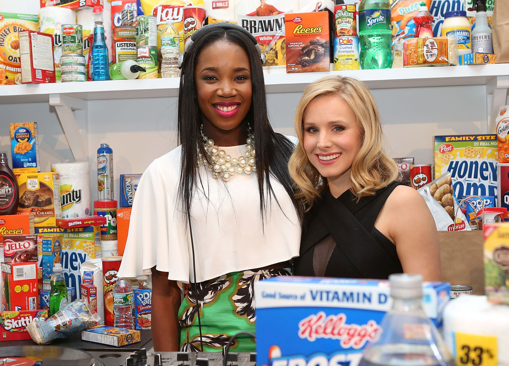 AMEX everyday party w/ Kristen Bell