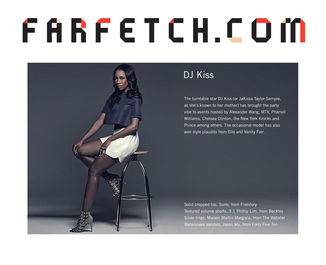 """Farfetch """"NY Fashion Week"""" Campaign"""